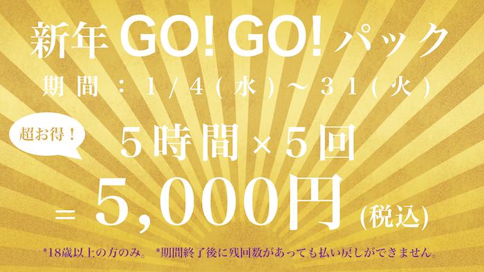 新年GOGOパック